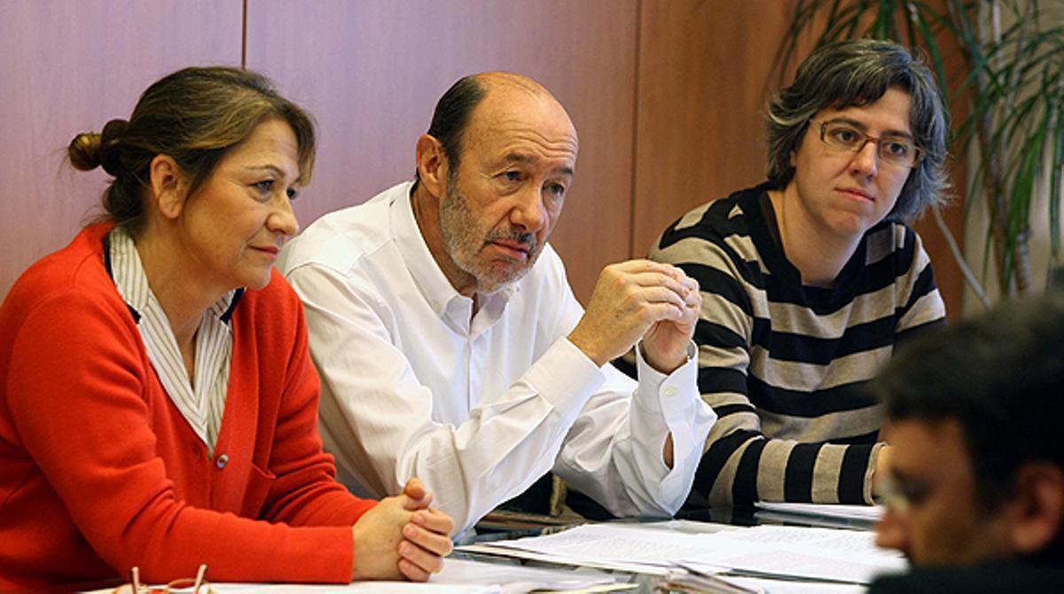 El PSOE busca una alternativa a los desahucios