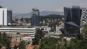 Imagen de la ciudad de Sarajevo.