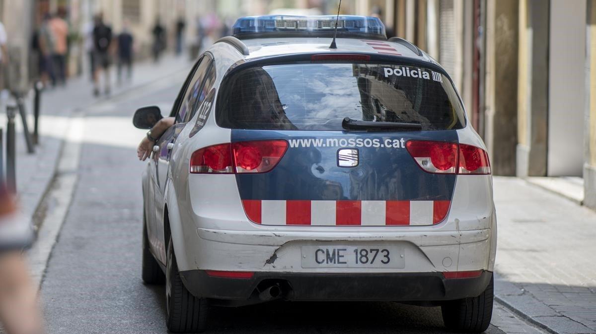 Imagen de recurso de un vehículo de los Mossos d'Esquadra.