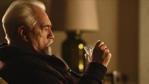 Brian Cox, en una escena de 'Succession'.