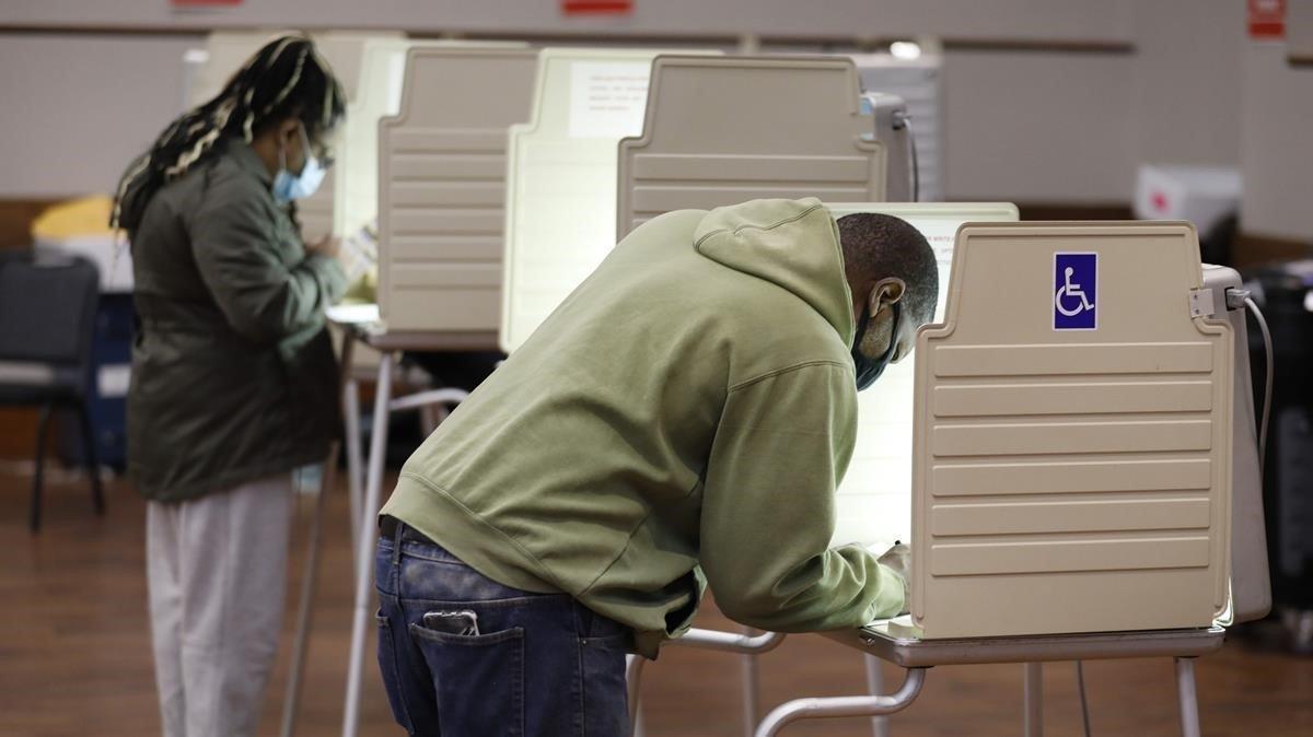 Votación en Detroit.