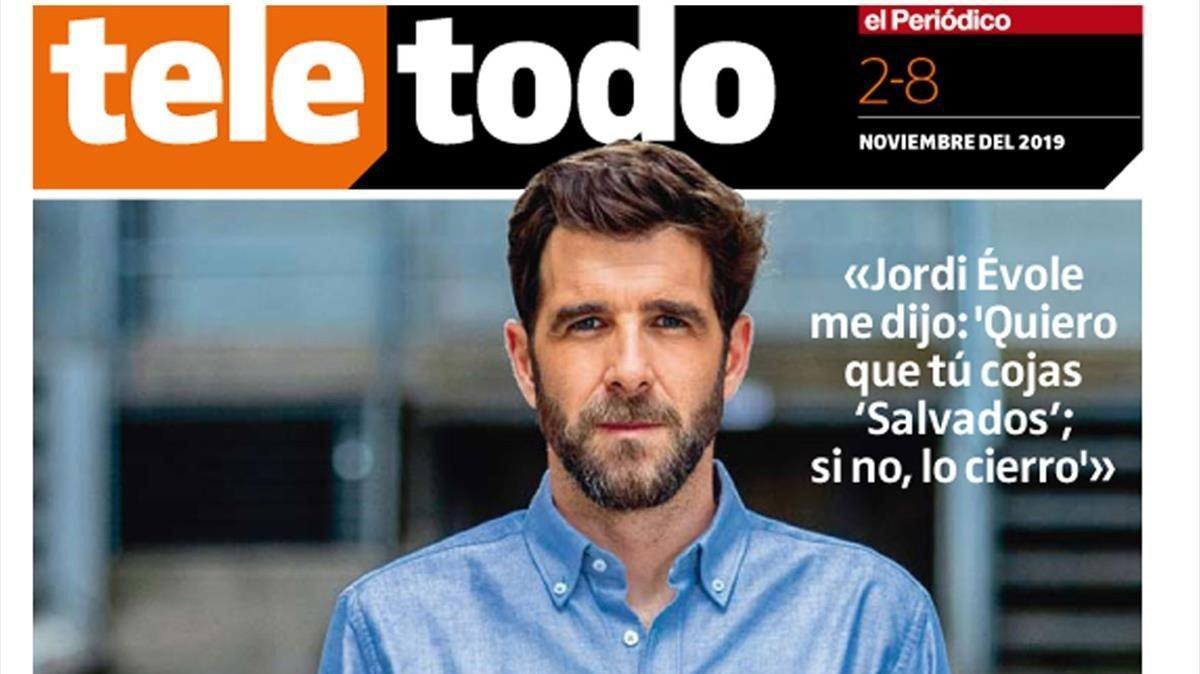 Portada del suplemento 'Teletodo' protagonizada por Gonzo.