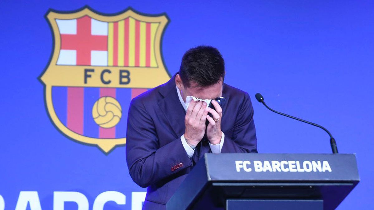 Messi, en su despedida del Barça: Estábamos convencidos de que íbamos a seguir aquí, en nuestra casa.