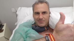 Ortega Smith, ingresado de urgencia por trombos como consecuencia del coronavirus.