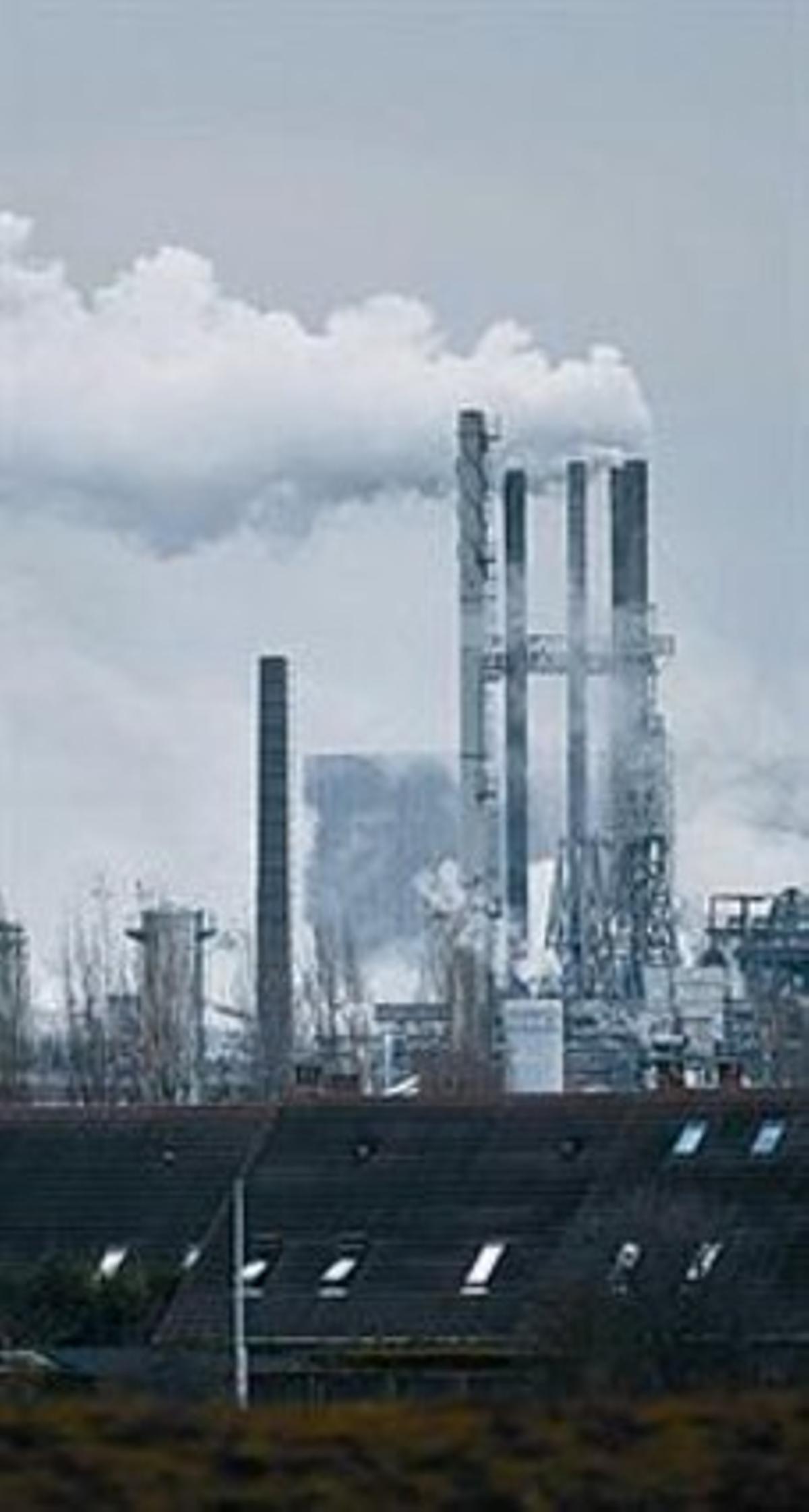 Una fábrica cerca de Lille.