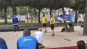 Parets acoge el Campeonato de Catalunya de dobletes de Petanca.