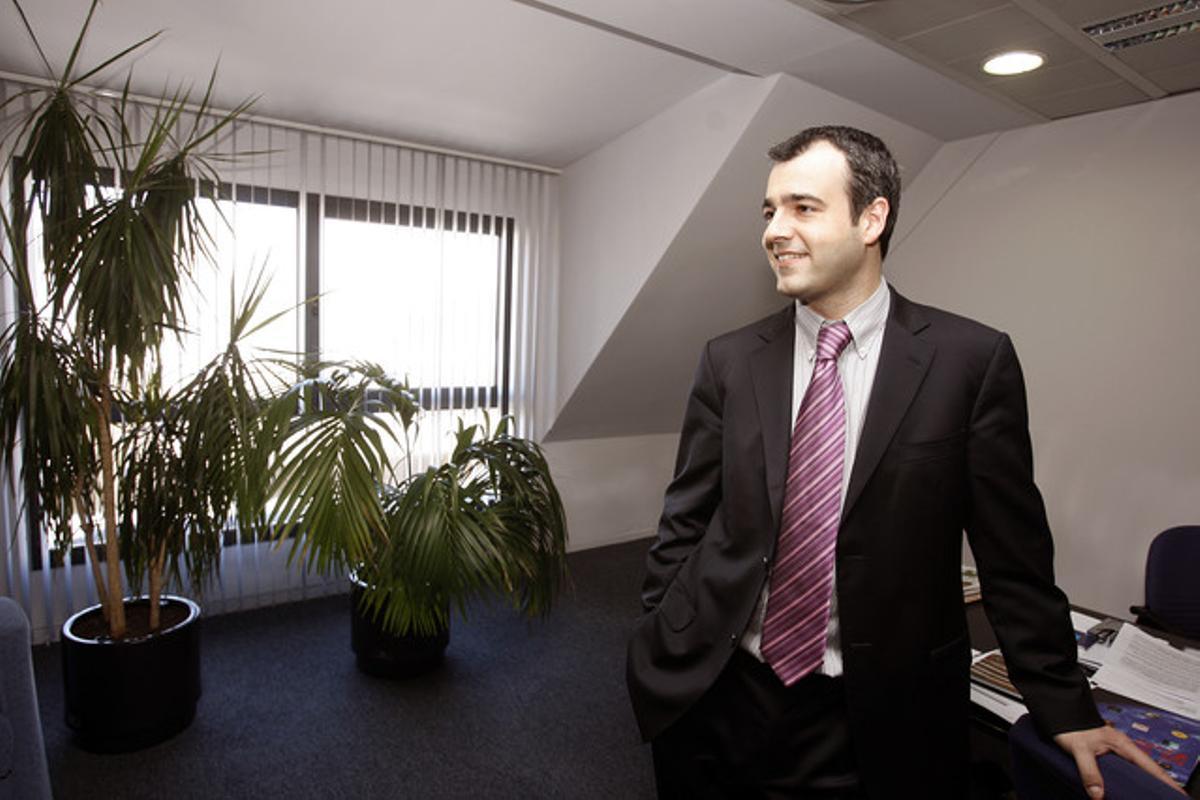 El economista Maurici Lucena será número dos de Navarro en la lista del PSC