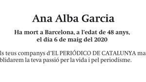 Ana Alba Garcia