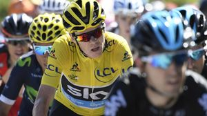 El ciclista británico Chris Froome durante el pasado Tour de Francia.