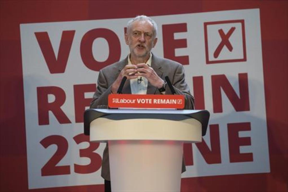 El líder laborista británico Jeremy Corbyn.