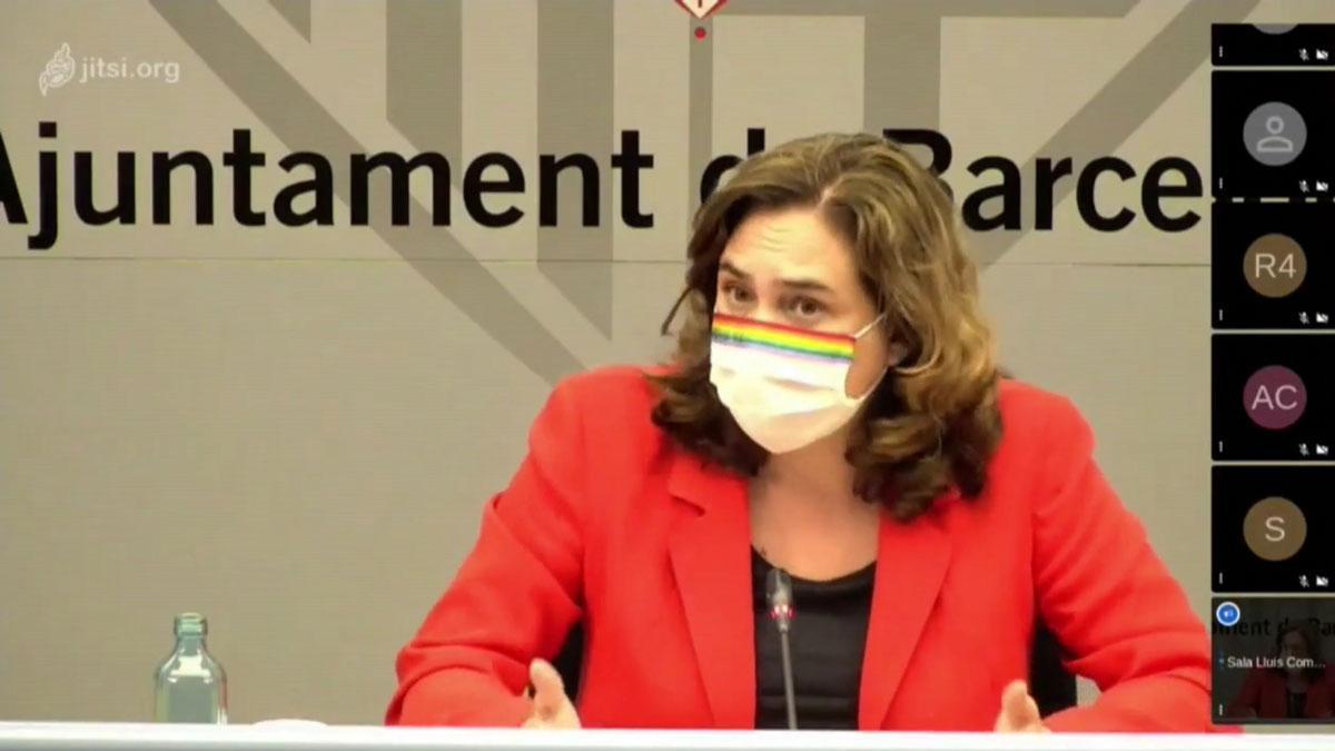 Colau pide a la Generalitat que explique la situación del coronavirus al máximo nivel.