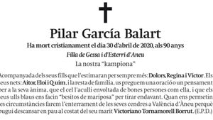 Pilar García Balart