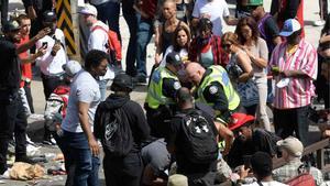 Estampidas en Toronto: dos heridos en la celebración de los Raptors.