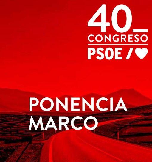 Ponencia marco del 40º Congreso Federal del PSOE