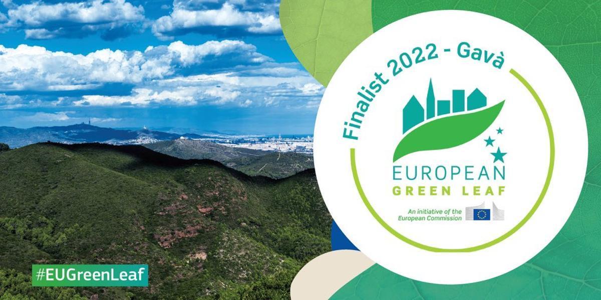 Gavà se sitúa como ciudad finalista de los premios European Green Leaf