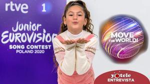 Soleá, representante de España en Eurovisión Junior 2020 con 'Palante'.