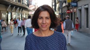 La socióloga Irene Bernal, portavoz de la oenegé Salud por Derecho.