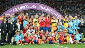 España igualó los tres títulos de Alemania en la Euro'2012