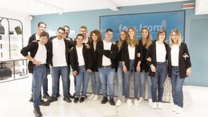 Equipo de for&from en Como, Italia.