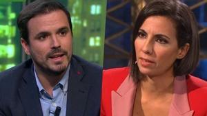 Alberto Garzón y Ana Pastor.