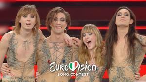 Måneskin ha ganado con el tema 'Zitti E Buoni'