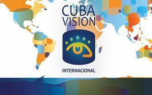 Logotipo de la televisisora Cubavisión Internacional.