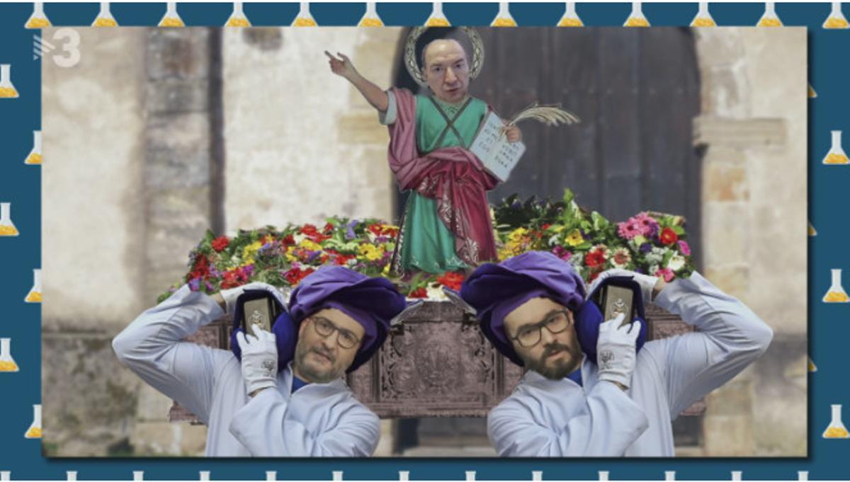 Los devotos costaleros de Sant Chis (TV3).