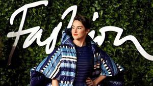 La actriz Shailene Woodley, con una creación de Moncler en los Fashion Awards, el pasado 2 de diciembre.