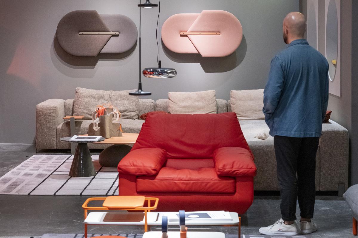 Imagen de archivo de la feria de muebles de Valencia