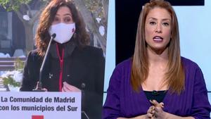 Isabel Díaz Ayuso e Isabel Zubiaurre.