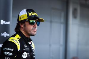 Fernando Alonso, piloto de Alpine F-1 Team.