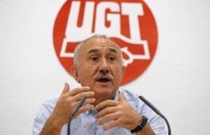Pepe Álvarez, secretario general de la UGT.