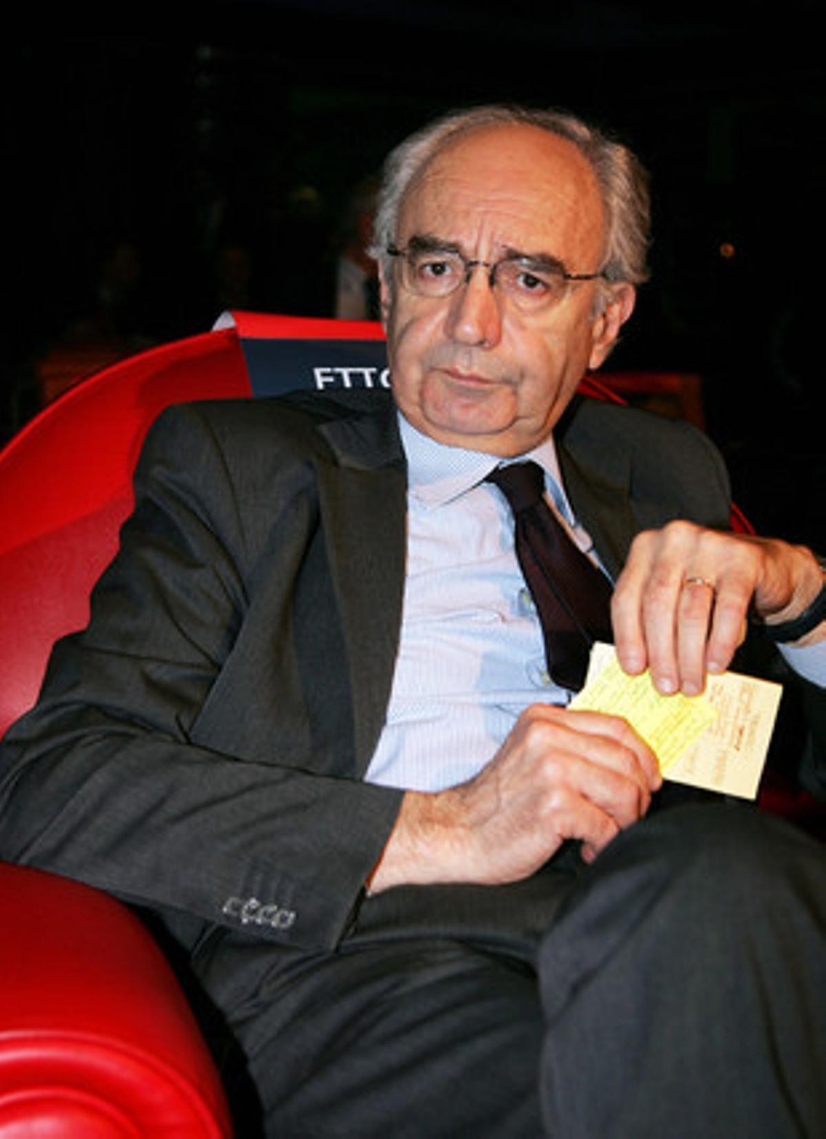 Ettore Gotti Tedeschi, presidente del Instituto para las Obras de la Religión (IOR), en una imagen de archivo.