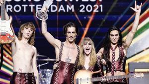 "Brutal ataque homófobo contra Måneskin ('Eurovisión 2021') en la TV bielorrusa: ""Basura que huele a sida"""