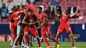 El Bayern celebra su sexta Liga de Campeones