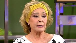 Mila en una de sus últimas apariciones en 'Sálvame'