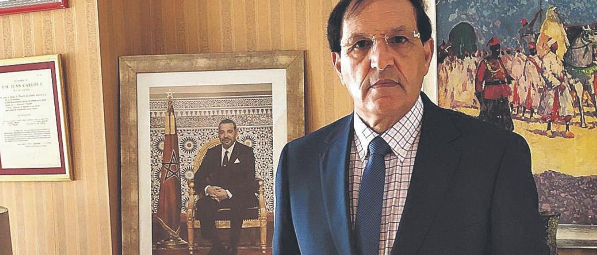Ahmed Moussa, cónsul de Marruecos en Canarias.