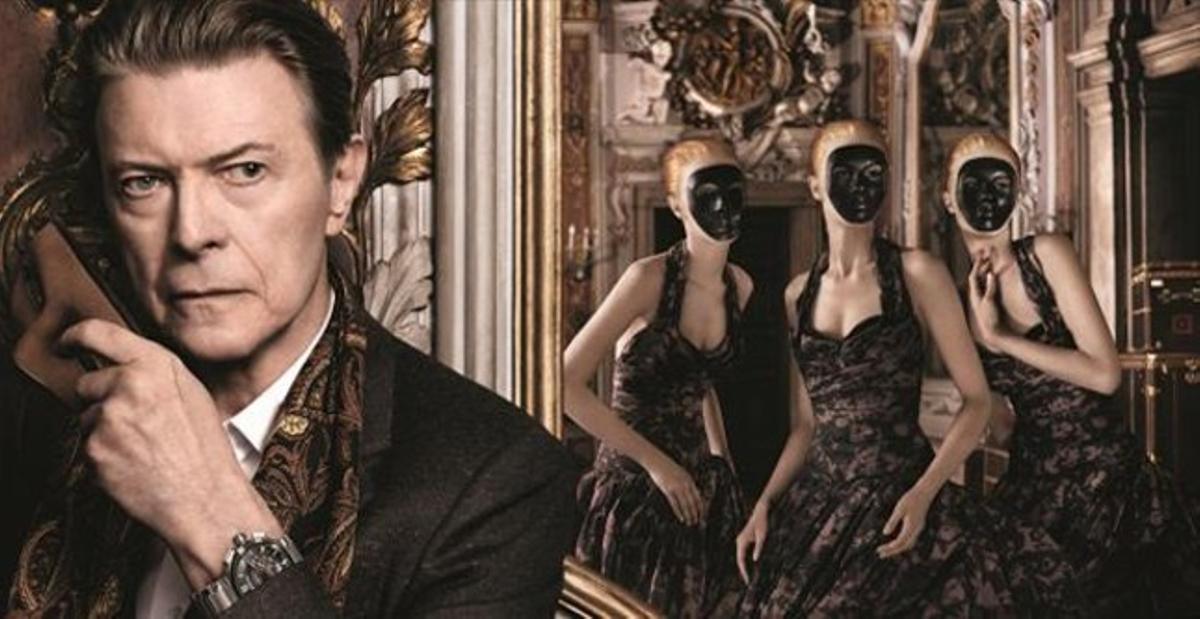 David Bowie es la nueva imagen de campaña de la línea de viaje de Louis Vuitton.