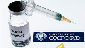 La vacuna desarrollada por Oxford y AstraZeneca.
