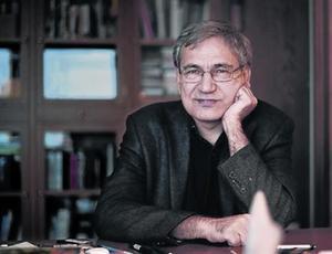 El novelista y premio Nobel turco Orhan Pamuk