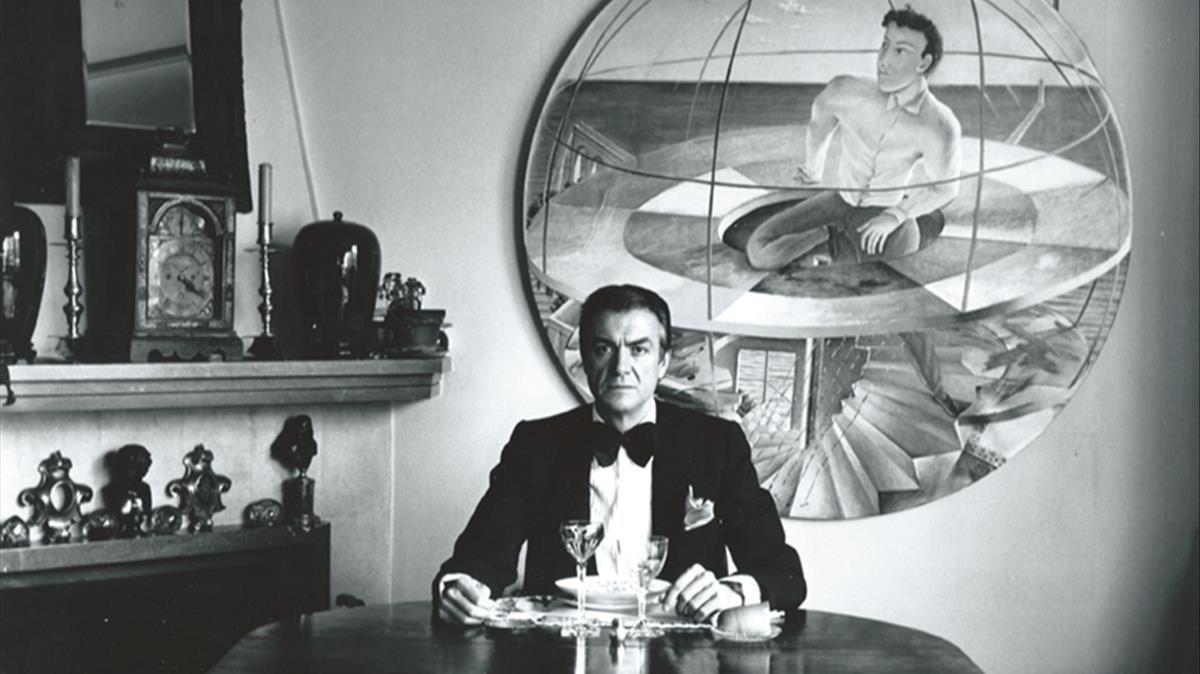 El galerista Fernando Vijante, retratado por Alberto García-Alix en 1982.