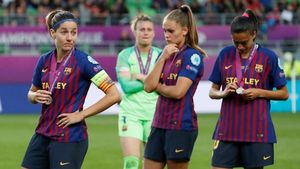El Lió destrossa el Barça a la final de la Champions femenina (4-1)