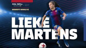 Lieke Martens, la estrella del Barça femenino.