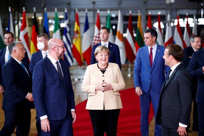 """Charles Michel: """"Un Consejo Europeo sin Merkel será como Roma sin el Vaticano o París sin la torre Eiffel"""""""