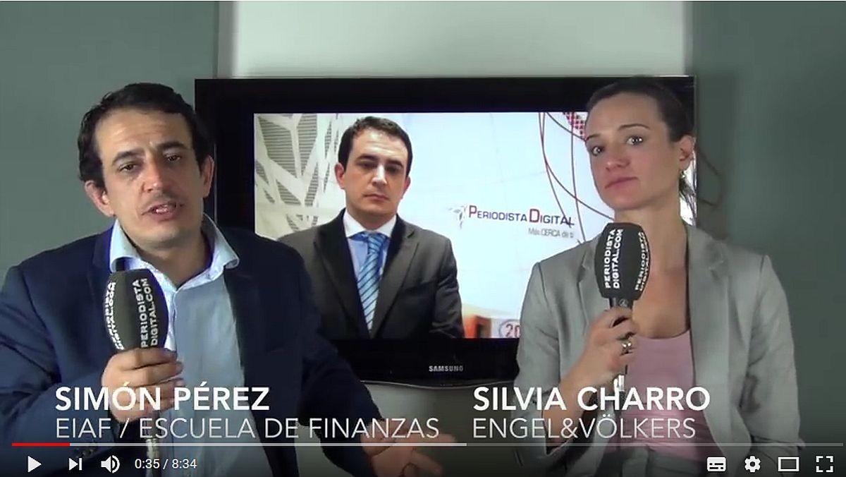 Simón Pérez y Silvia Charro, en el vídeo.