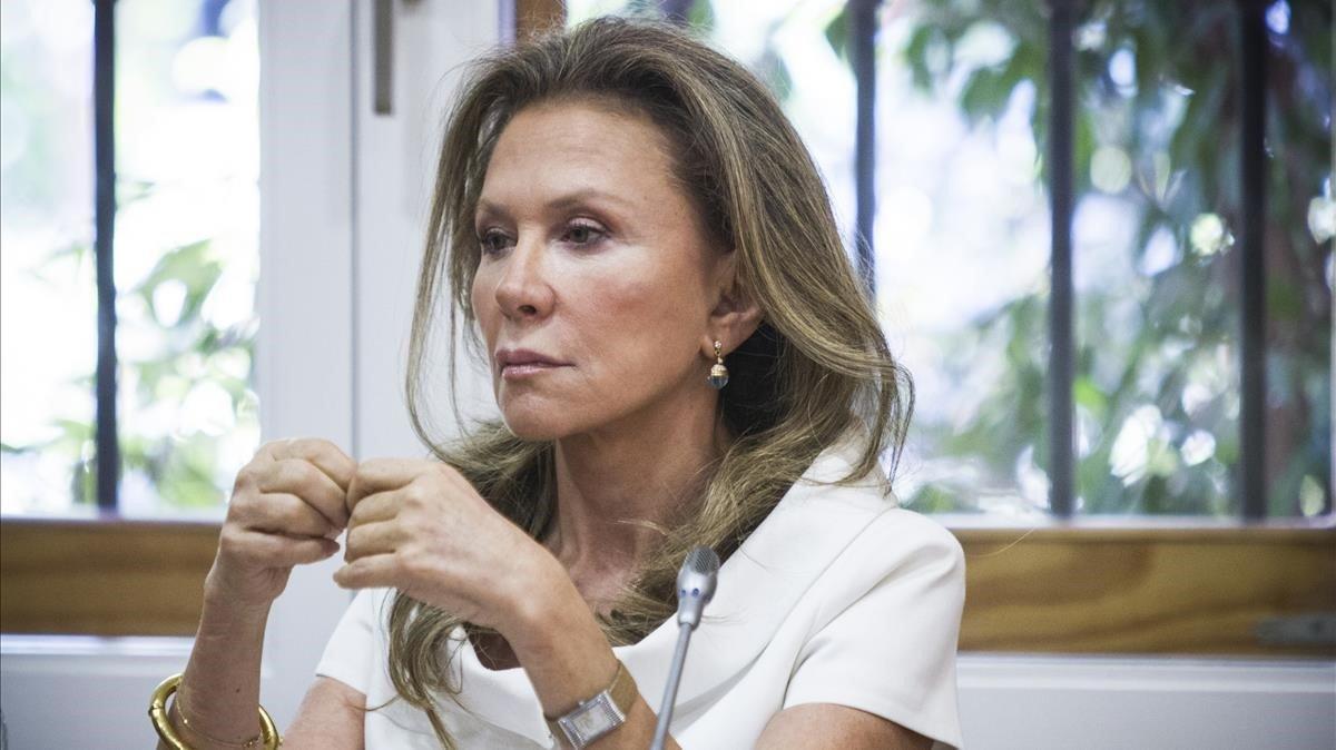 Alicia Koplowitz, en el verano del 2013.
