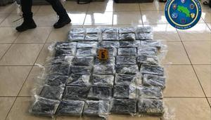El decomiso ocurrió en la Terminal de Contenedores de Moín, de la provincia de Limón (Caribe).
