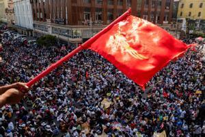 Birmània intensifica les protestes democràtiques i l'ONU alerta d'un final fatal