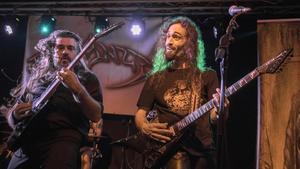 Concierto del grupo de thrash metal Alyanza en La Nau del Poble Nou