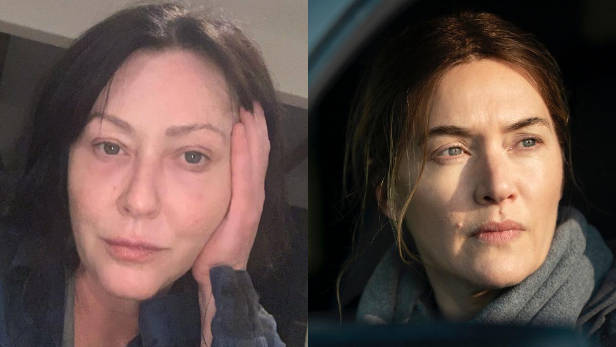 Las actrices Shannen Doherty y Kate Winslet, defensoras de las mujeres reales, sin filtros ni bótox.